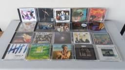CDs de bandas e cantores internacionais: rock, pop, reggae, mpb, jazz, instrumental