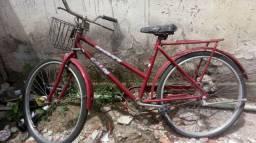 Bicicleta top stilo caloi porem bem leve