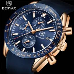 Título do anúncio: Relógio Benyar Azul - Original.