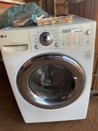 Título do anúncio: Máquina de lavar roupa LG Direct Drive 11 - Placa defeituosa, resto perfeito