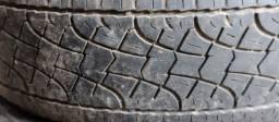 Vende se 4 pneus de caminhoneta aro p 255/65 R 17. 110 t m +s
