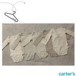 Título do anúncio: Kit Body Carters 5 peças - 9 meses