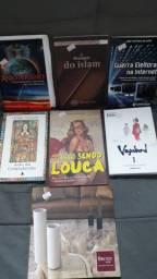 Livros variedades de temas é editor.