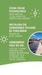 Vendo usina foto voltaico com renda imediata de R$ 12.000 no condomínio Vale do sol