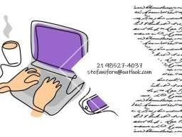 Título do anúncio: Digitação & Transcrição