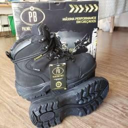 Bota tática palmilhado boots