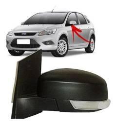 Par Retrovisores elétricos com pisca Ford Focus 2010 Esquerdo e Direito Original (Usado)