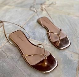 Sandália rose tamanho 34