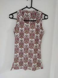 Título do anúncio: Vendo separadamente blusas em malha, linha e crepe de alcinha novas Tam M