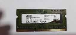 Memória notebook DDR3 2GB