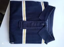 Camisa polo Tommy tamanho g cor azul