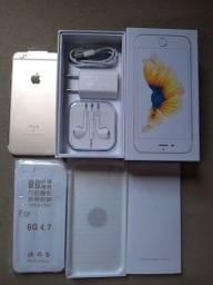 Vendo Lindo Iphone 6S Cor Dourado De 64GB