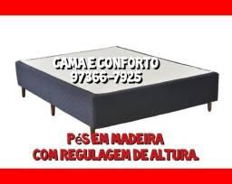 Título do anúncio: FRETE GRÁTIS, CAMA BOX / BASE BOX CASAL