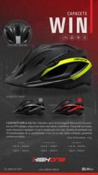 Capacete Bike Highone MTB WIN c/ vista light várias cores
