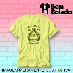 Título do anúncio: Camiseta amarela Bolsonaro Presidente 2022 protesto