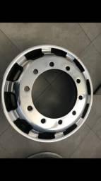2 Rodas de alumínio Speedine 22,5x8,25 10 furos