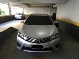 Toyota Corolla GLi 1.8 Prata. Único Dono. Excelente Estado. 24.500 km - 2017