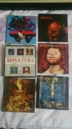 Box Sepultura - 5 CDS