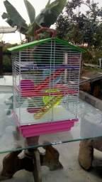 Gaiola de hamster de 3 andares