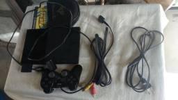 Playstation 2 Play 2 PS2 + 12 jogos funcionando perfeitamente (ótimo estado)
