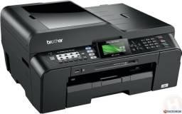 Multifuncional Impressora Brtoher A3 Com Cartuchões 100 Ml