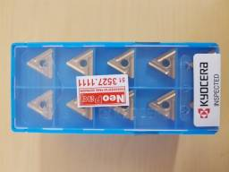 (10 peças) Pastilha / Inserto de metal duro TNMG160408R-ST CA525 marca Kyocera