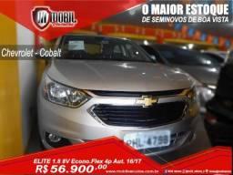 Chevrolet Cobalt ELITE 1.8 8V Econo.Flex 4p Aut. - 2017