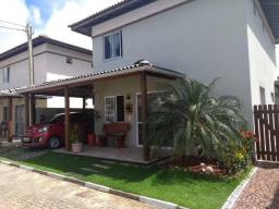 Casa duplex três quartos com 1 suíte com armário - Estrada do coco