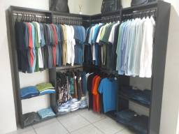Expositor de roupas