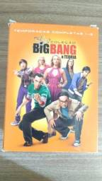 Box dvd the big bang theory 1-5 temporada