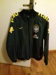 Jaqueta oficial selecao brasileira nike
