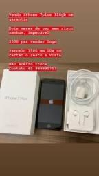 IPHONE 7 Plus 128gb c/ garantia