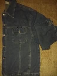 Jaqueta jeans tamanho GG
