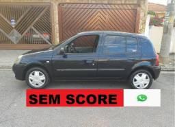 Renault Clio hatch financio sem score baixa entrada