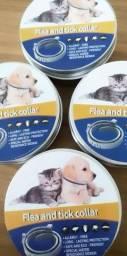 Coleira Anti Pulgas E Carrapatos Duração 8 Meses para Cães E Gatos 62 Cm