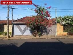 Casa para Venda em Bauru, Jd. Eldorado, 3 dormitórios, 1 suíte, 3 banheiros, 2 vagas