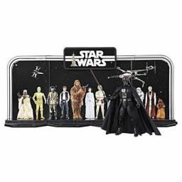 Expositor de bonecos star wars edição especial 40 anos