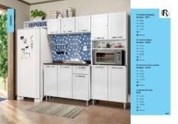 Armário Cozinha Com Balcão Múltipla 3