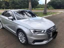 Audi A3 Ambition - mais completo - Teto e led nas lanternas. não deixo em consignação. - 2015