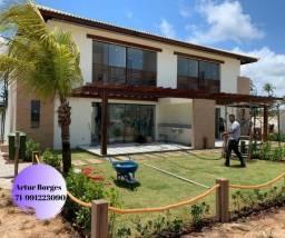 Imbassaí Privilege 2 e 3 quartos Casas , Bangalôs e lotes. Litoral Norte Bahia-four