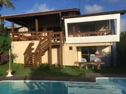 Casa 3/4 sendo 1 suíte com closet, hidromassagem, frente mar. Barra do Jacuípe