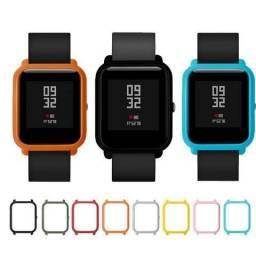 Capa Case Bumper Para Proteção Xiaomi Huami Amazfit Bip Relógio Inteligente Smartwatch