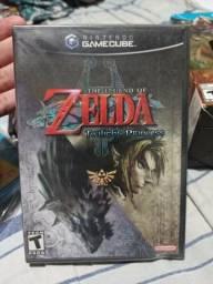 Zelda Twilight Princess gamecube lacrado comprar usado  São Paulo
