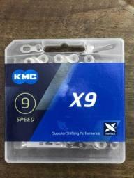 Corrente KMC 9 speed X9