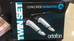 Ortofon Scratch Twin mk2 nova zero
