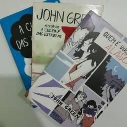 Kit 3 livros do John Green