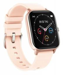 Relógio Smartwatch P8 Ouro Original Envio Imediato - No Brasil