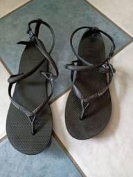 Chinelo havaianas 37 sandália calçado feminino