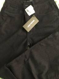 Nova e original Calça jeans flare lança perfume