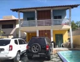 Casa ampla com piscina no Portal do Sol, troca por apartamentos. 318-8348